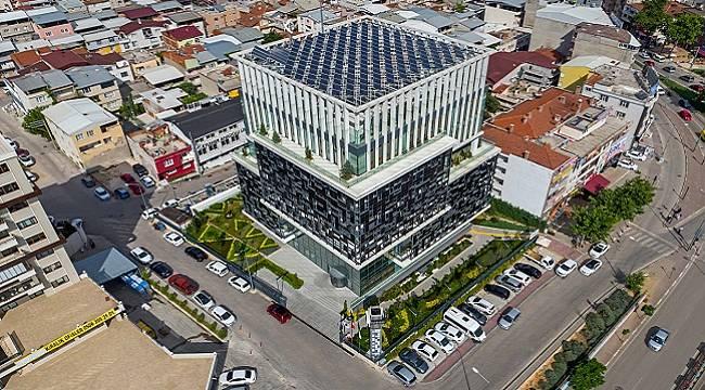 Akıllı Genel Müdürlük Binası 2021'de enerjisinin yüzde 44'ünü üretti - BURSAGAZ!
