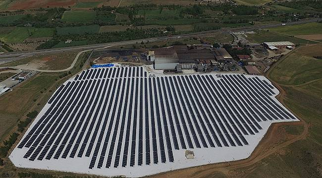Çemaş , güneşin enerjisini üretime yansıtacak