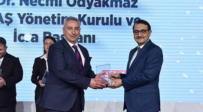 Enerji ve Doğal Kaynaklar Zirvesi'nde SEDAŞ'a ödül!