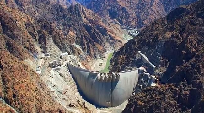 Tamamı suyla dolacak - Artvin Yusufeli Barajı!