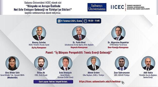 SÜ İstanbul Uluslararası Enerji ve İklim Merkezi düzenliyor!