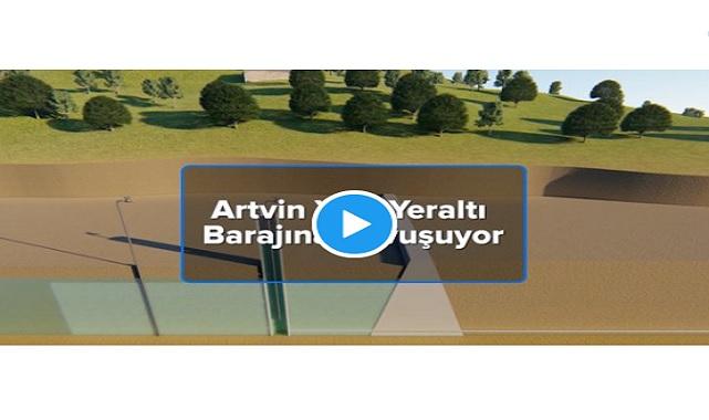 Yeraltı Barajı'nda SU toplanmaya başlandı - ARTVİN!