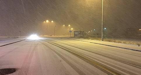 Ankara'da şiddetli kar yağışı başladı