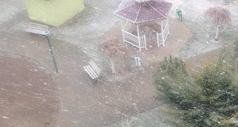An itibariyle Ankara'da kar yağışı!