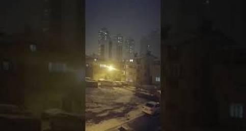 İstanbul'da kar fırtınaya dönüştü