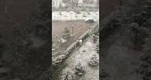 An itibariyle Ankara: Bahar ama kar yağıyor