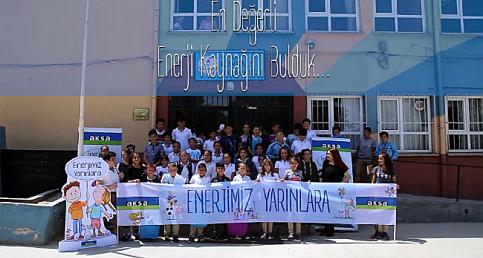 Aksa Enerji: Köy okulları için yola koyuldu