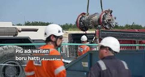 TürkAkım Doğalgaz Boru Hattı alım terminali inşaatı yüzde 95 oranında tamamlandı!