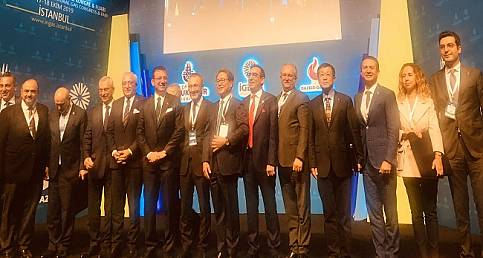 Doğal Gaz Kongre ve Fuarı'nı açtı: İBB Başkanı İmamoğlu