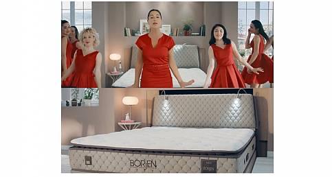 Bor'la üretilen yatağın reklamı!