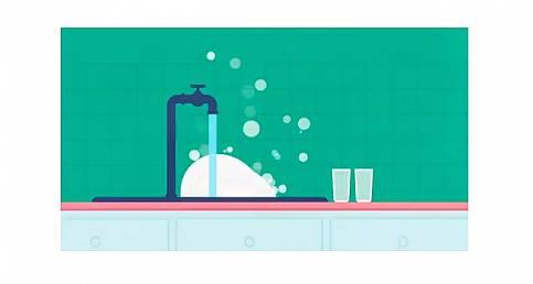 Yeterli ve temiz suya erişim ile suyun iyi yönetimini anlatıyor!