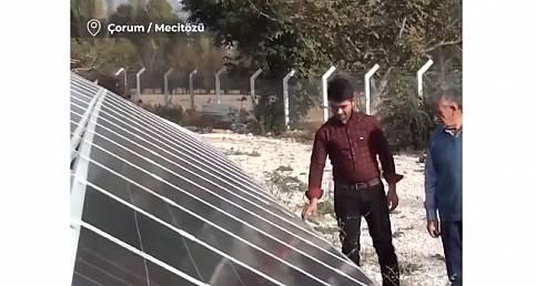 100 hanelik köyün elektriğini karşılıyor