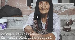 En Yaşlı Elektrik Abonesi 'Fatma Nine' 30 Ağustos'u anlatıyor!